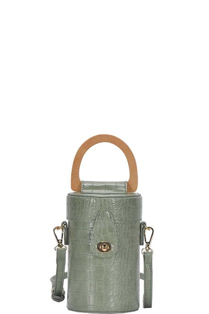 CYLINDRICAL CUTE CROSSBODY BAG  - orangeshine.com