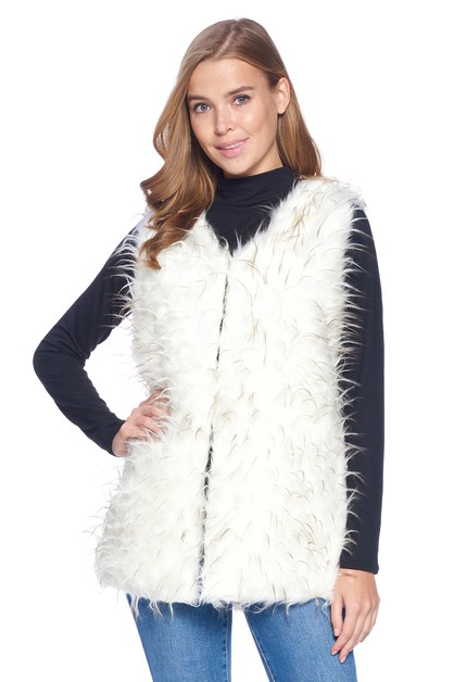 ONE SIZE FUR VEST - orangeshine.com