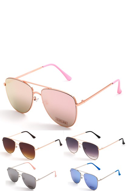 Mirror Aviator Fashion Sunglasses - orangeshine.com