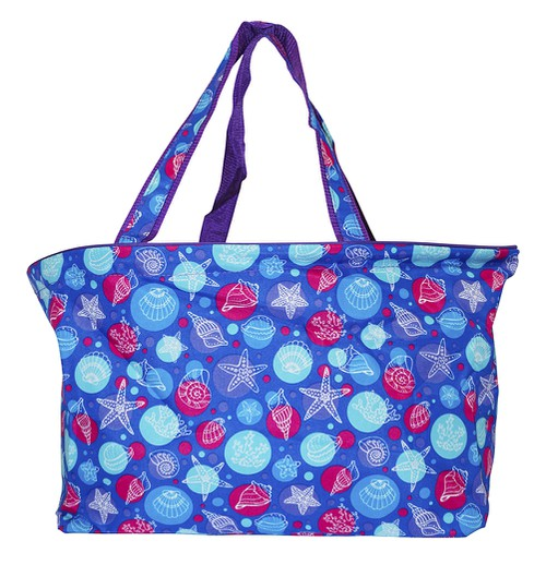 Sea Turtle Beach Tote Bag 18 inch - orangeshine.com
