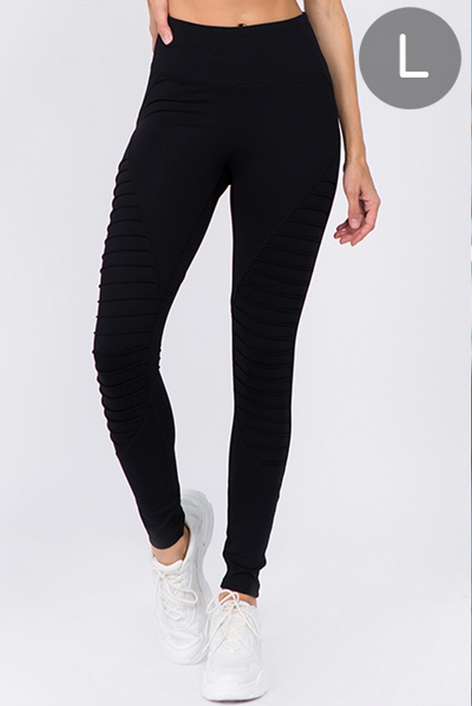 Active High Rise Moto Legging - orangeshine.com