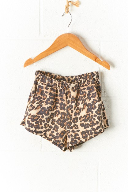 ANIMAL PRINT SHORTS FOR KIDS - orangeshine.com