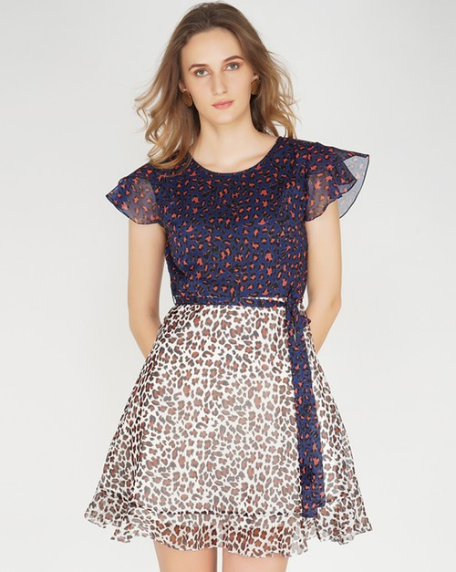 Annie Fit and Flare Dress - orangeshine.com