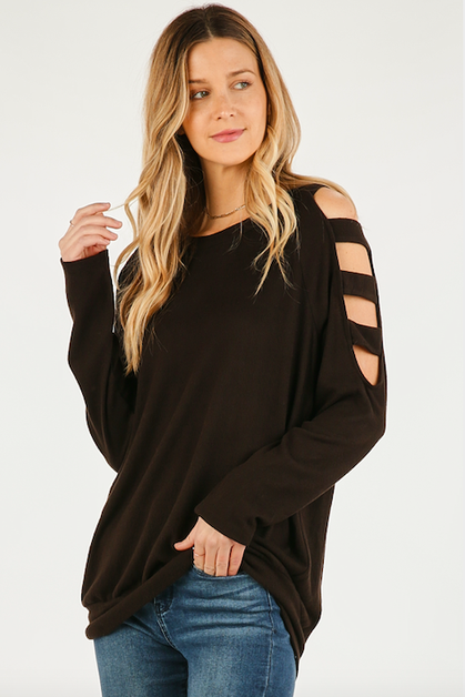 LADDER SLEEVE TOP - orangeshine.com