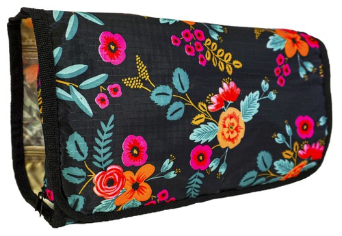 Floral Hanging Toiletry Bag Travel - orangeshine.com