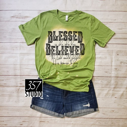 Blessed is She who has Believed - orangeshine.com