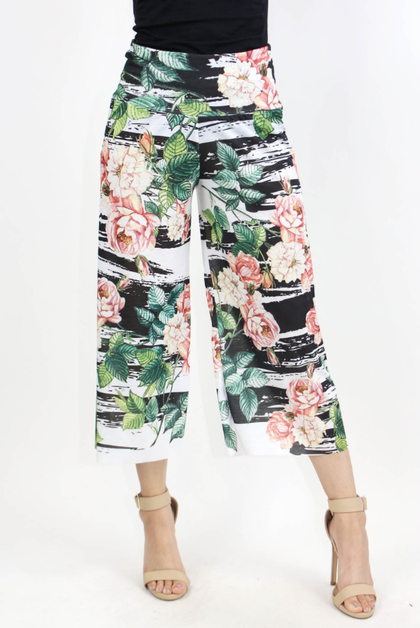 WIDE LEG GAUCHO PANTS - orangeshine.com