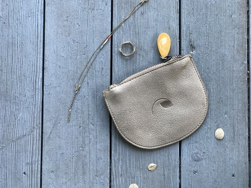Coin Purse in Vegan Leather - orangeshine.com