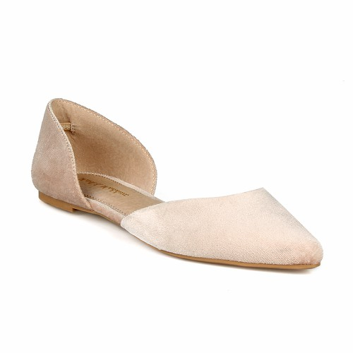 Mark Maddux Women Velvet Flat - orangeshine.com