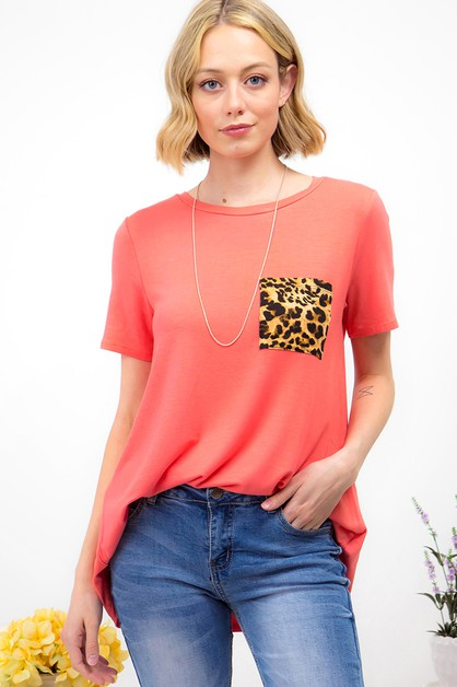 SOLID TUNIC TOP  - orangeshine.com