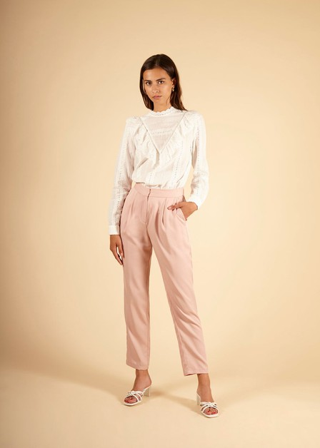 PALMIRA - WOMENS WOVEN PANTS - orangeshine.com