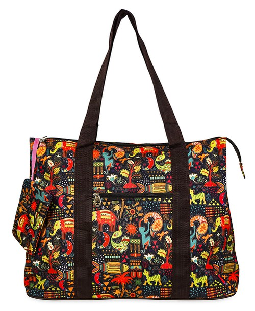 Elephant Tote Bag 21 inch - orangeshine.com