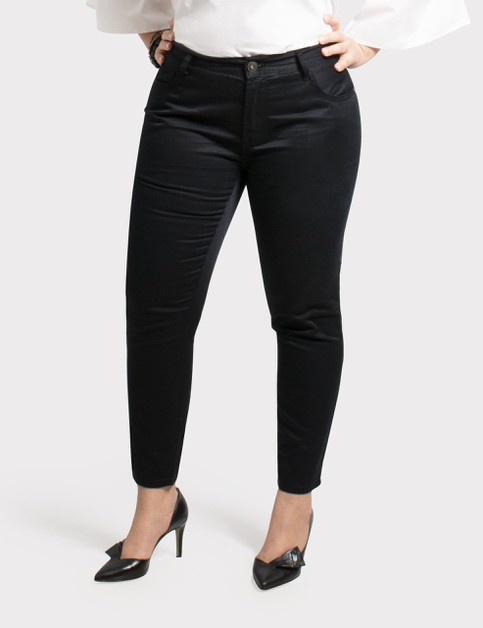 Plus Size Denim Pants - orangeshine.com