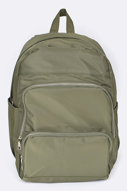Nylon Backpack - orangeshine.com
