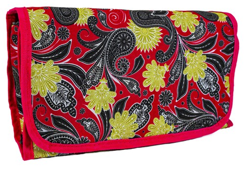 Paisley Hanging Toiletry Bag Travel - orangeshine.com