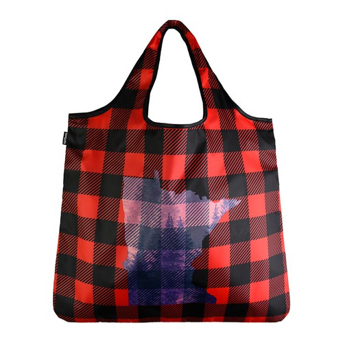 YaYbag ORIGINAL-Minnesota Plaid - orangeshine.com
