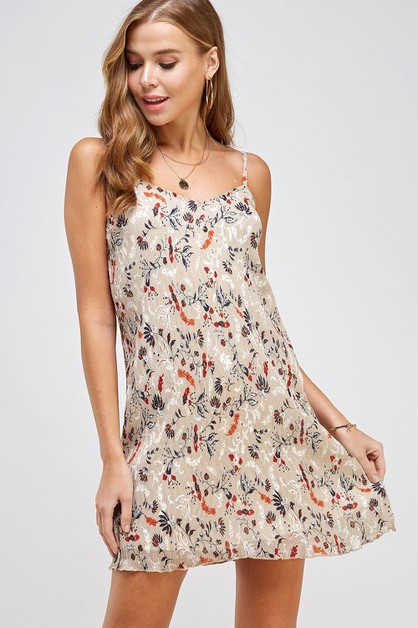 Floral Breeze Cocktail Dress - orangeshine.com