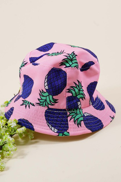Pineapple Bucket Hat  - orangeshine.com