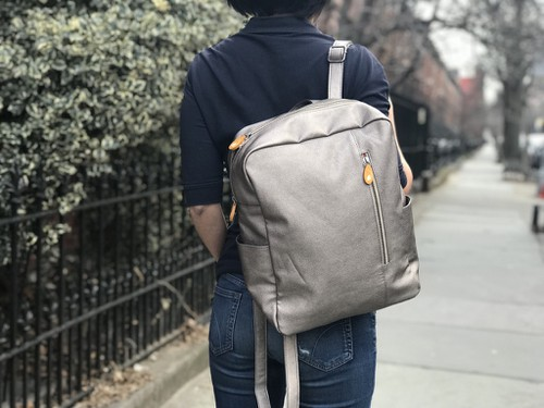 Slim Backpack Purse - orangeshine.com