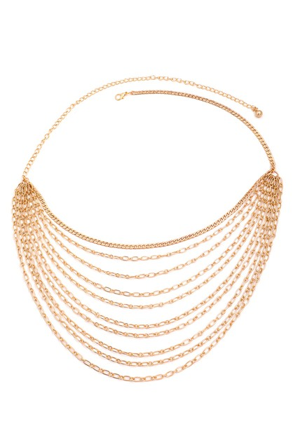 Multi Strand Chain Belt - orangeshine.com