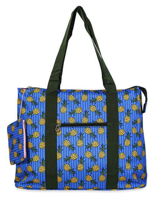 Pineapple Tote Bag 21 inch - orangeshine.com