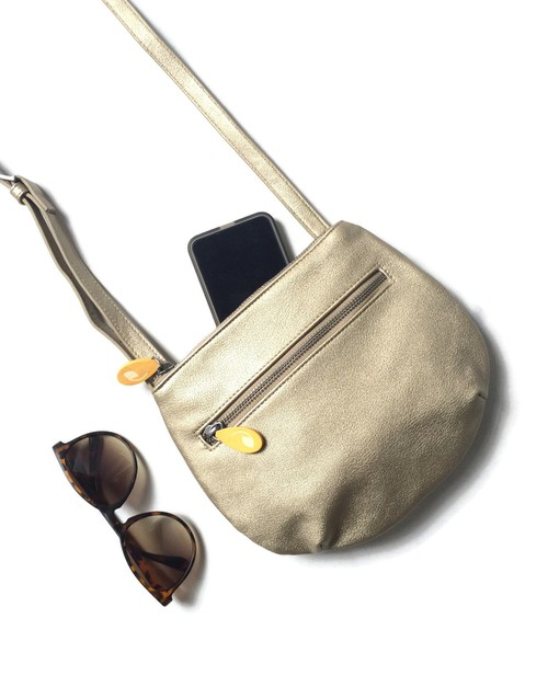 Gold Crossbody Bag - orangeshine.com
