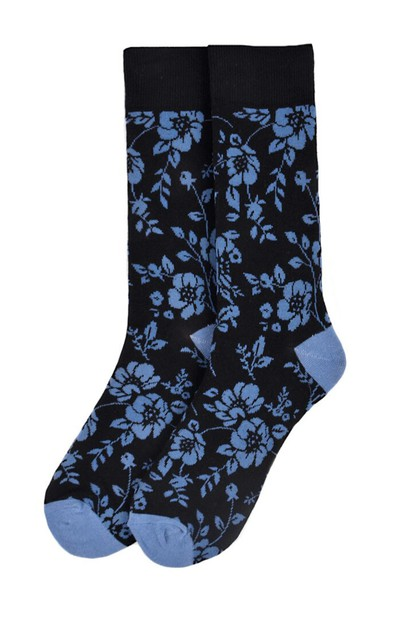 Mens Floral Novelty Socks - orangeshine.com