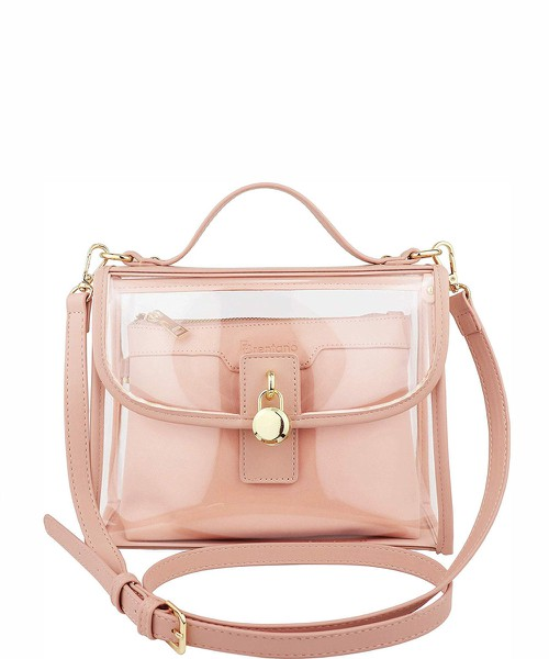 Clear Top Handle Satchel Crossbody B - orangeshine.com