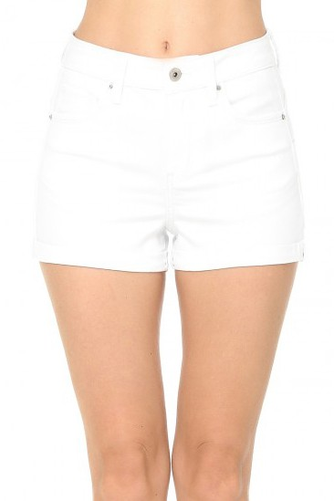 PUSH-UP HIGH RISE JEAN SHORTS  - orangeshine.com