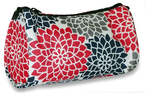 Floral Cosmetic Makeup Bag - orangeshine.com