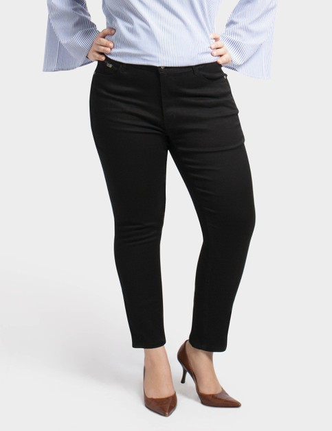 Plus Size Stretch Denim Pants - orangeshine.com