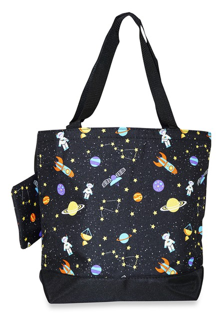 Galaxy Tote Bag 17 inch - orangeshine.com