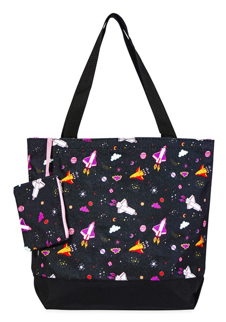 Space Tote Bag 17 inch - orangeshine.com