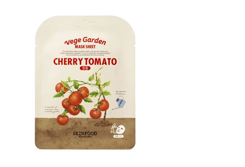 Vege Garden Mask Sheet -Cherry Toma - orangeshine.com