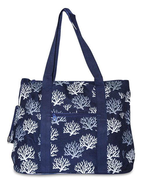 Sea Coral Tote Bag 21 inch - orangeshine.com