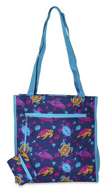 Sea Turtle Tote Bag 12 inch - orangeshine.com