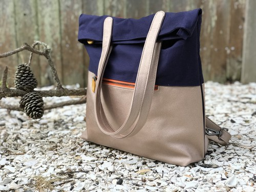 Convertible Backpack Tote - orangeshine.com
