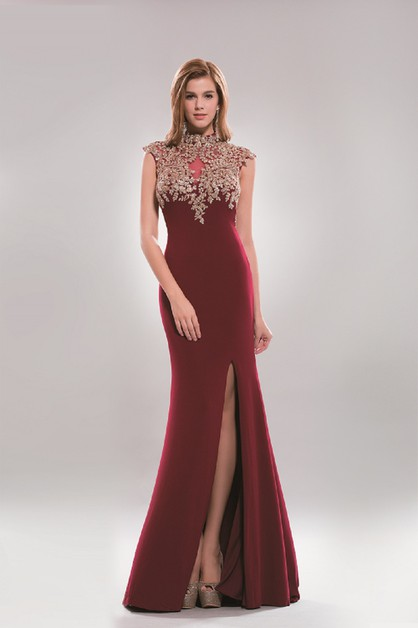 embellished dress - orangeshine.com