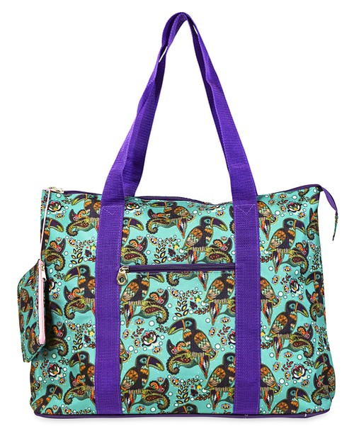 Toucan Bird Tote Bag 21 inch - orangeshine.com