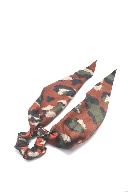 SCARF HAIR PONY TIE - orangeshine.com
