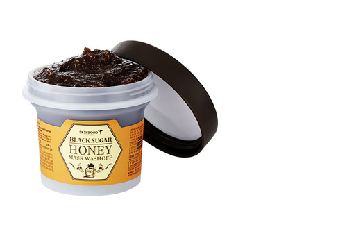 Black Sugar Honey Mask Wash off 100g - orangeshine.com