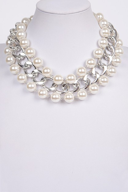 Queens Pearl Necklace - orangeshine.com