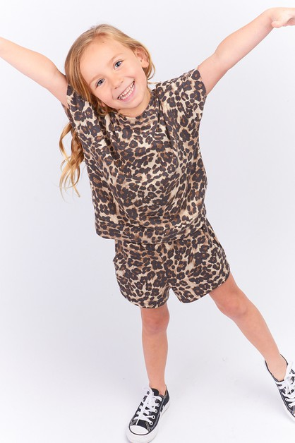KIDS LEOPARD PRINT COZY TOP - orangeshine.com