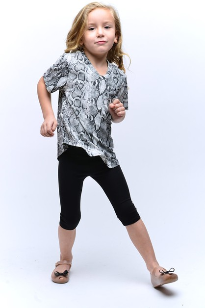 KIDS SNAKESKIN POCKET TOP - orangeshine.com