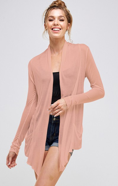 VERY LIGHT WEIGHT SPRING CARDIGAN - orangeshine.com
