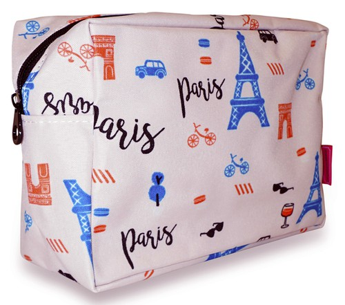 Paris Cosmetic Makeup Bag Case - orangeshine.com