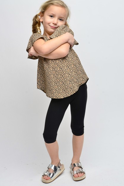 KIDS LEOPARD PRINT TOP - orangeshine.com