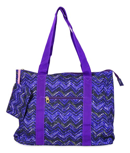 Chevron Tote Bag 21 inch - orangeshine.com