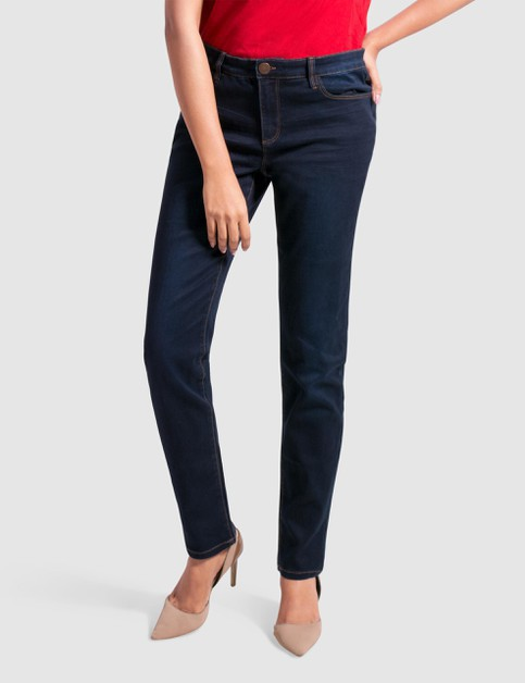 Plus Size Stretch Denim Pant SlimFit - orangeshine.com