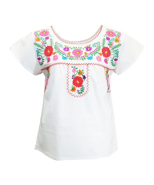 unik Traditional Mexican Blouse - orangeshine.com